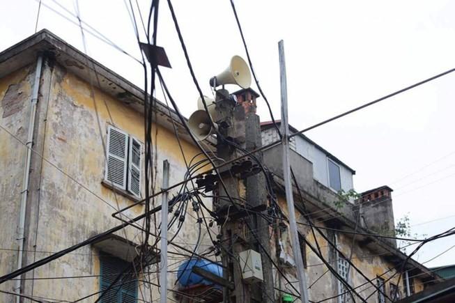 Hà Nội: Loa phường 4 quận nội đô chỉ phát khi khẩn cấp - ảnh 1