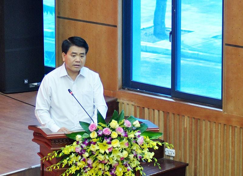 Chủ tịch Hà Nội nói về xử lý nhà 8B Lê Trực - ảnh 1
