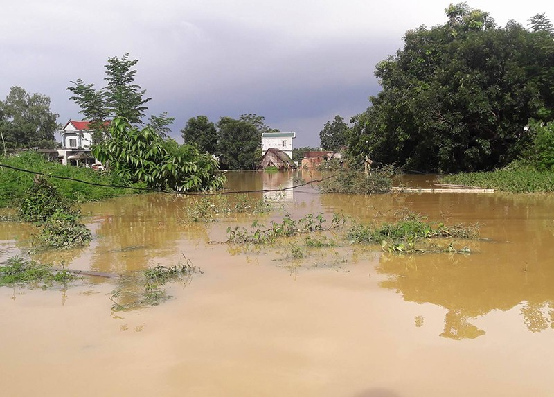 Hà Nội: Vỡ đê, nhiều nơi chìm trong nước - ảnh 2