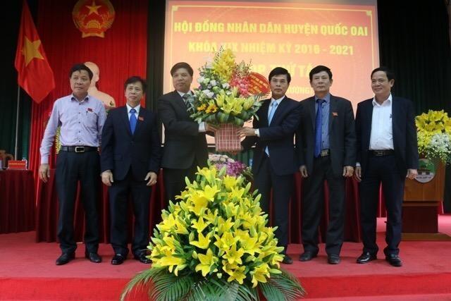 Hà Nội: Huyện Quốc Oai có chủ tịch mới - ảnh 1
