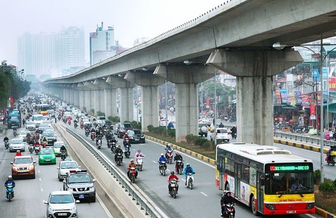 Vingroup đề nghị làm 2 tuyến đường sắt giá tỉ đô ở Hà Nội - ảnh 1