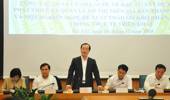 Hà Nội kêu khó với Bộ Xây dựng về cải tạo chung cư cũ - ảnh 1