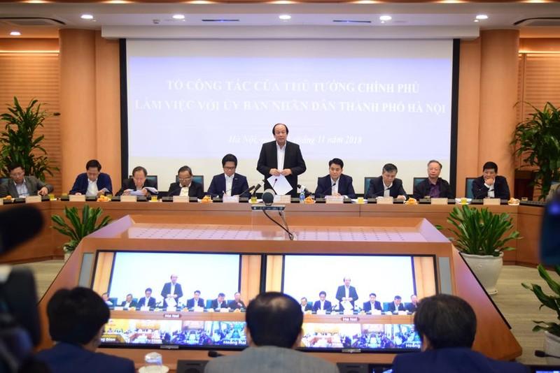 Hà Nội được Thủ tướng khen 9 vấn đề và bị nhắc 9 việc - ảnh 1