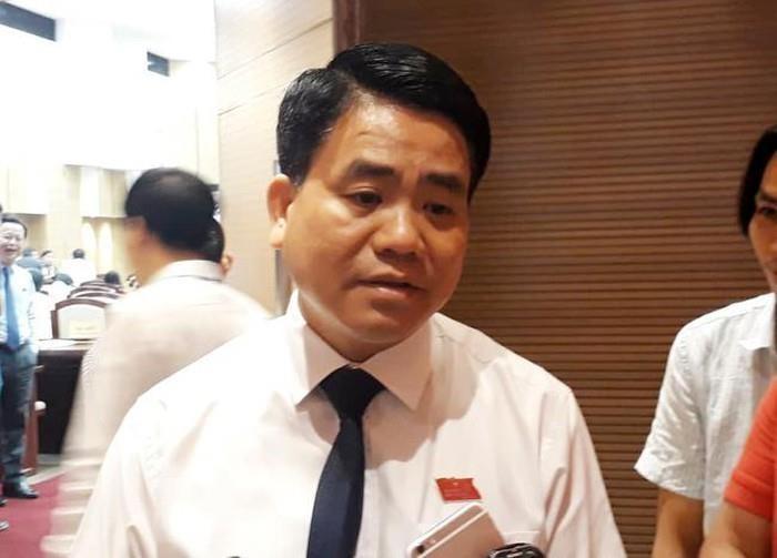 Ông Nguyễn Đức Chung: 'Hà Nội chưa có quyết định cấm xe máy' - ảnh 1