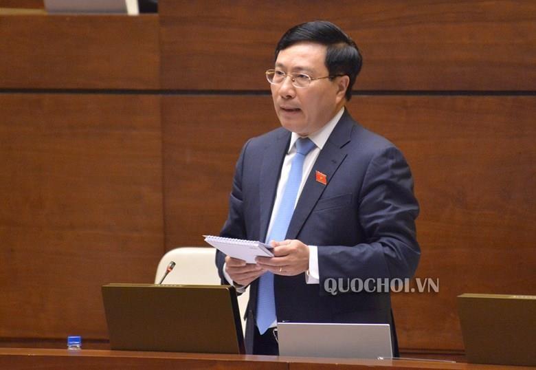 Phó Thủ tướng Phạm Bình Minh nói về bảo vệ chủ quyền biển, đảo - ảnh 1