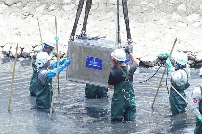 Hà Nội: Tranh cãi cống hoá sông Tô Lịch, Kim Ngưu - ảnh 1