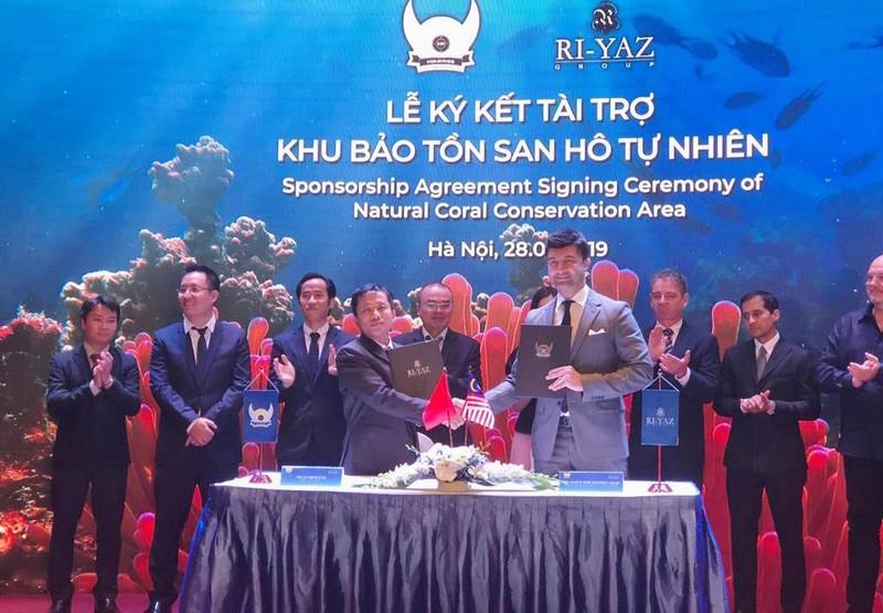Malaysia hỗ trợ 100.000 USD tái tạo san hô vịnh Nha Trang - ảnh 1