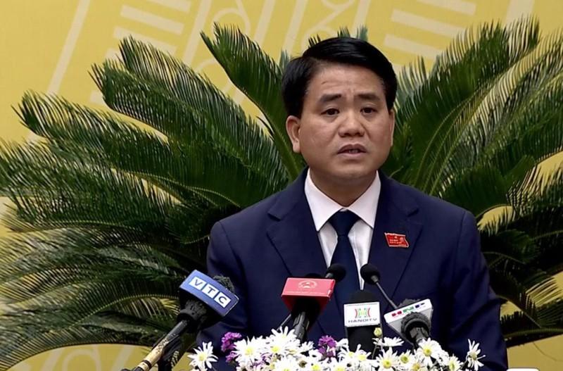 Chủ tịch Hà Nội: GĐ Sở Tài chính nói sai vụ nước sông Đuống - ảnh 1