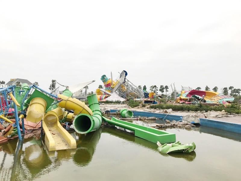Công bố thanh tra việc cưỡng chế Công viên nước Thanh Hà - ảnh 1
