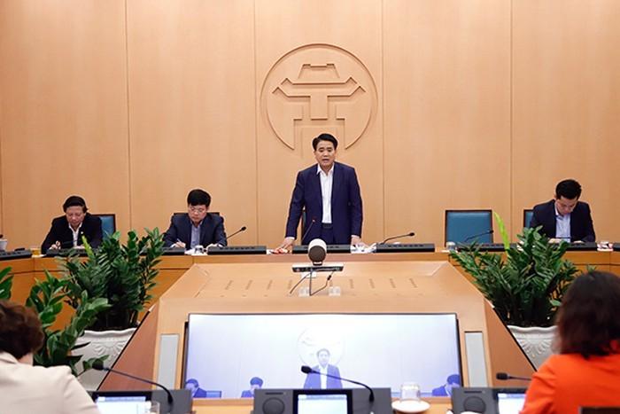 Chủ tịch Hà Nội nhấn mạnh nguy cơ lây nhiễm chéo dịch COVID-19 - ảnh 1