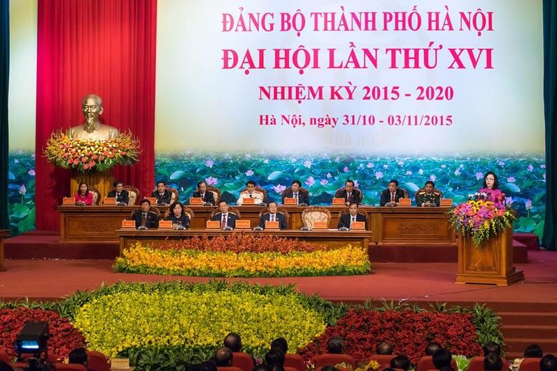 Hà Nội dự kiến nhân sự cho BCH Đảng bộ khóa mới - ảnh 1