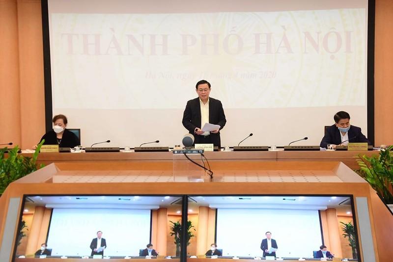 Hà Nội xin một số cơ chế đặc thù để phát triển kinh tế-xã hội - ảnh 1