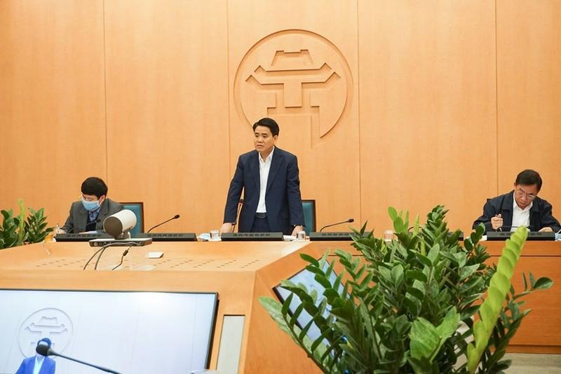 Chủ tịch Hà Nội: TP không tranh công bố ca COVID-19 mới - ảnh 1