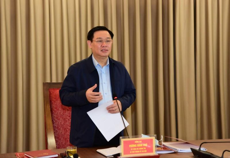 Bí thư Hà Nội: Không để phát sinh 'điểm nóng' trước ĐH Đảng - ảnh 1