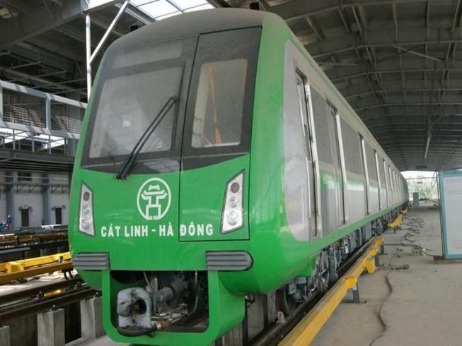 Cử tri yêu cầu sớm chạy tàu đường sắt Cát Linh–Hà Đông - ảnh 1