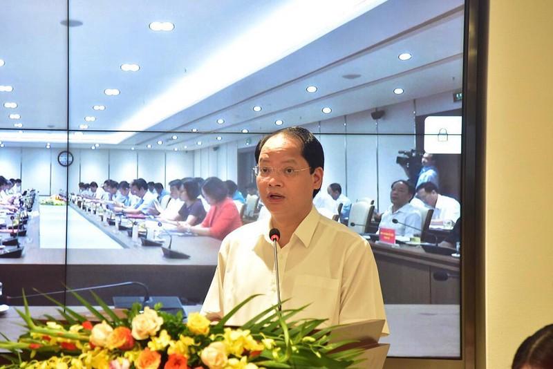 Nguyễn Doãn Toản - Hội nghị BCH Đảng bộ Hà Nội 30-6
