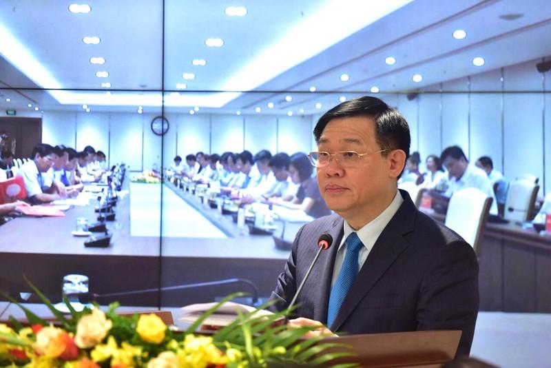 Vương Đình Huệ - Hội nghị BCH Đảng Bộ Hà Nội 30-6
