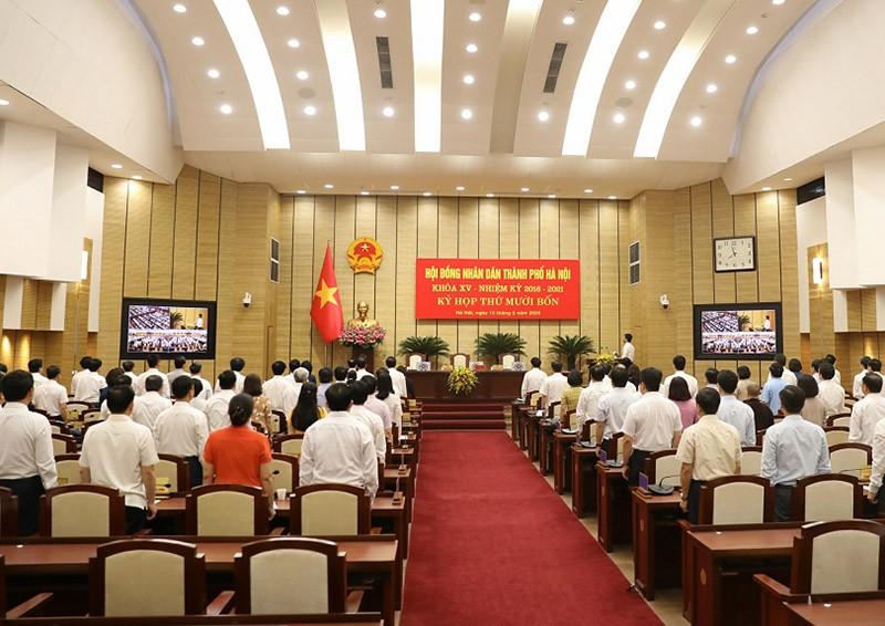 Học Quốc hội, kỳ họp HĐND TP Hà Nội không chất vấn trực tiếp - ảnh 1