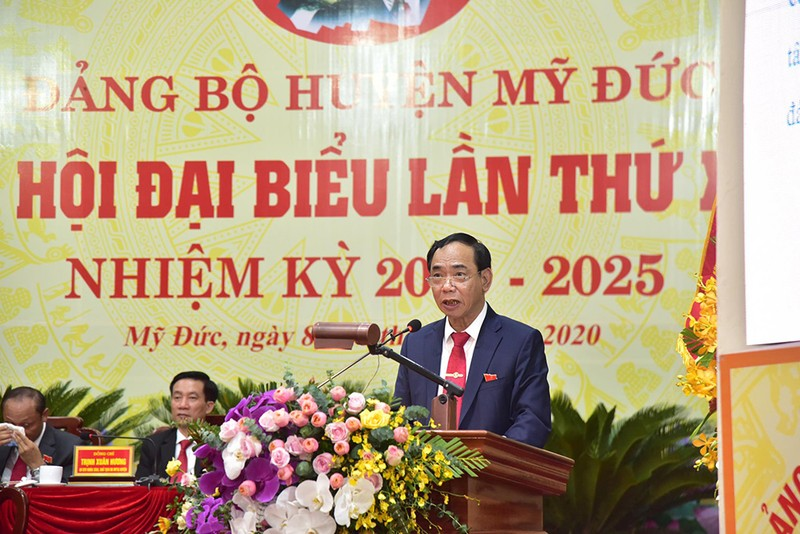 Bí thư Hà Nội: Đưa Đồng Tâm thành xã nông thôn mới vào 2021 - ảnh 1