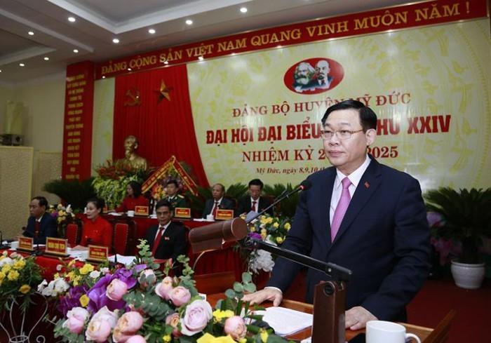 Bí thư Hà Nội: Đưa Đồng Tâm thành xã nông thôn mới vào 2021 - ảnh 2