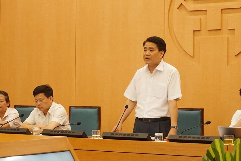Chủ tịch Nguyễn Đức Chung: Hà Nội có 2 ca nhiễm COVID-19 - ảnh 1