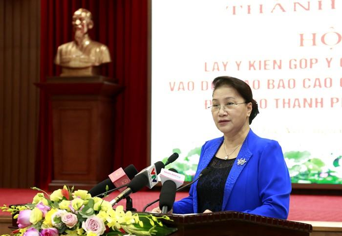 Chủ tịch Quốc hội: Hà Nội cần khai thác tốt quỹ đất sông Hồng - ảnh 2