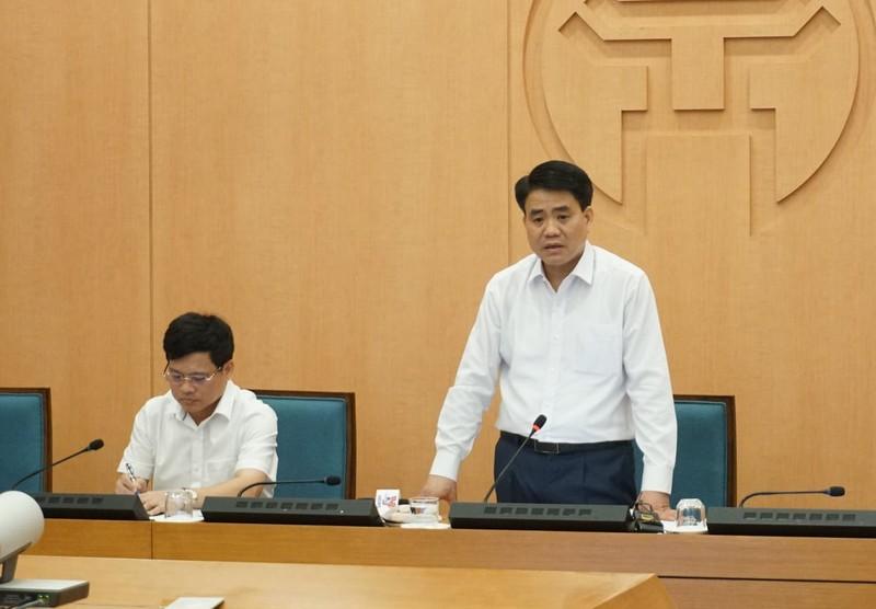 Chủ tịch Hà Nội: Tăng mức cảnh báo nguy cơ COVID-19 tại Thủ đô - ảnh 1