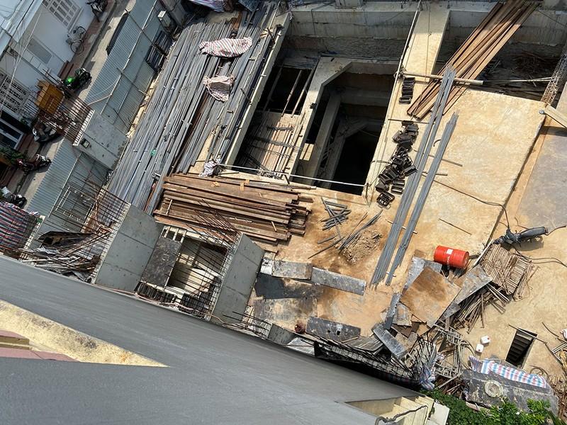 Quận Ba Đình nói về việc nhà dân xây 4 tầng hầm - ảnh 1