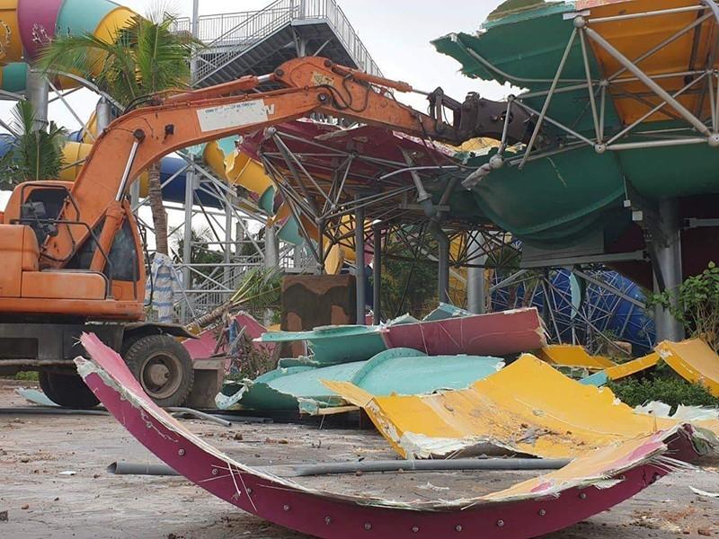 Vụ đập công viên nước: Lãnh đạo quận Hà Đông bị đề nghị xử lý - ảnh 2