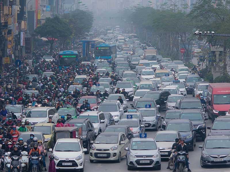 Sở TN&MT Hà Nội đề xuất hỗ trợ đổi xe máy cũ cho dân - ảnh 1