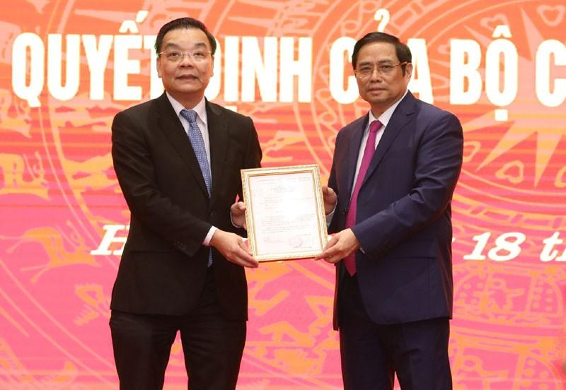 Ông Chu Ngọc Anh nói gì khi về nhận nhiệm vụ tại TP Hà Nội - ảnh 1