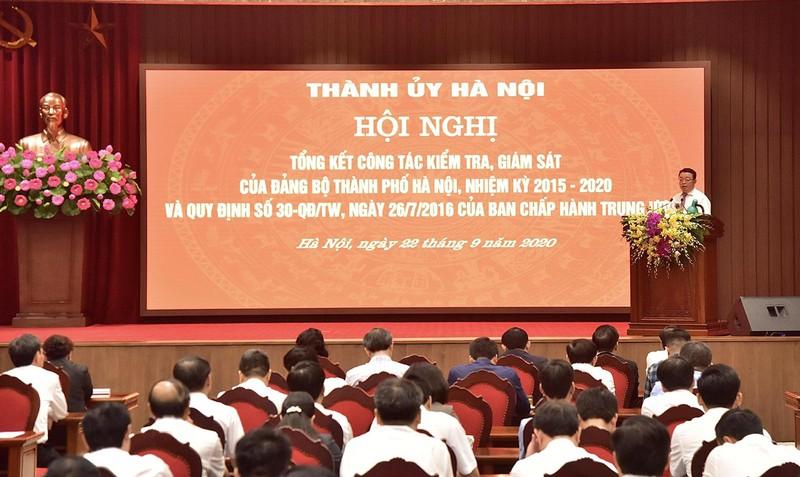 Hà Nội kỷ luật 4.143 đảng viên, 59 tổ chức đảng - ảnh 1