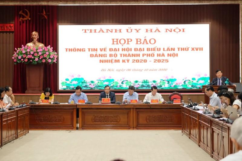Hà Nội sẽ bầu 71/81 người vào Ban chấp hành Đảng bộ khoá mới - ảnh 3