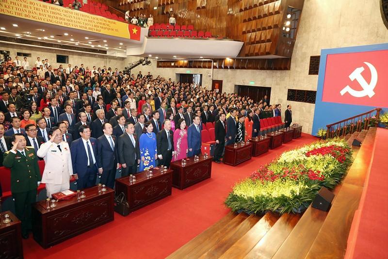 Đại hội Đảng bộ Hà Nội bắt đầu phiên trù bị - ảnh 1