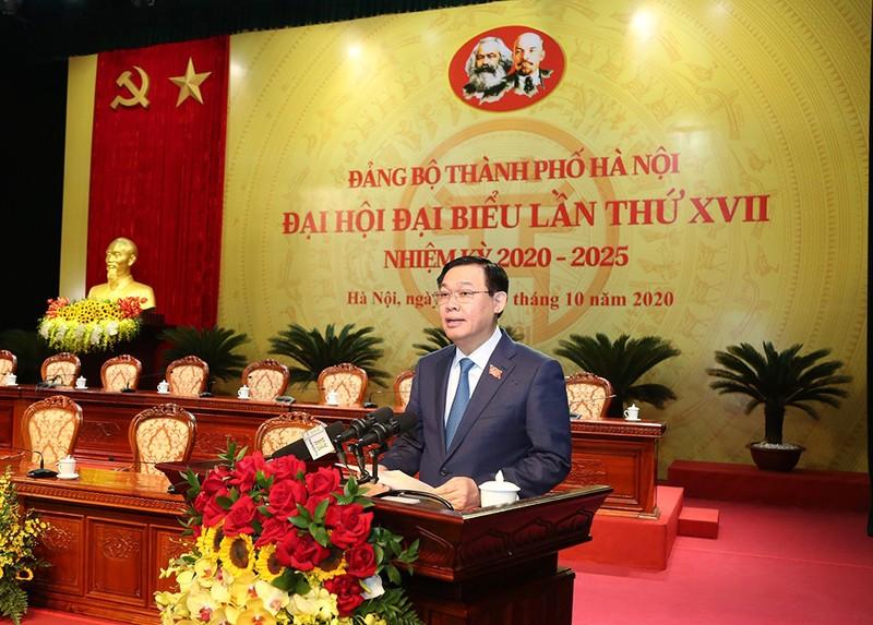 Đại hội Đảng bộ Hà Nội bắt đầu phiên trù bị - ảnh 2