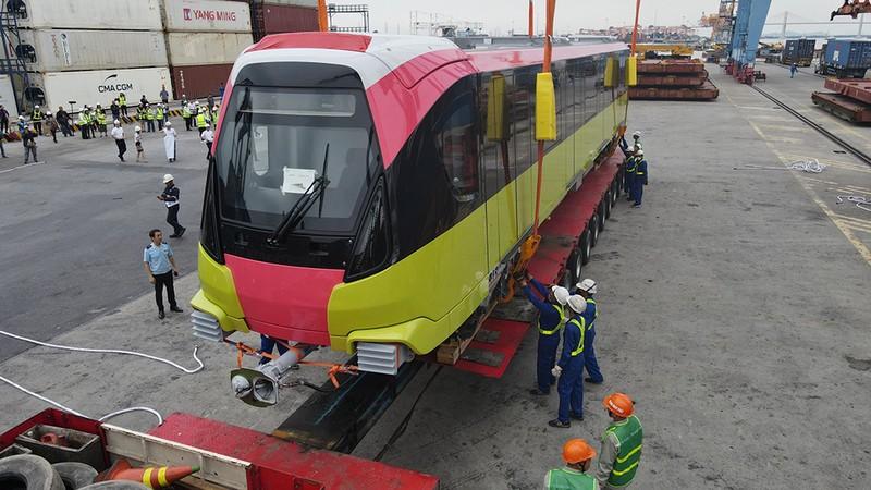 Metro Nhổn - ga Hà Nội sắp vận hành thử toa tầu đầu tiên - ảnh 3