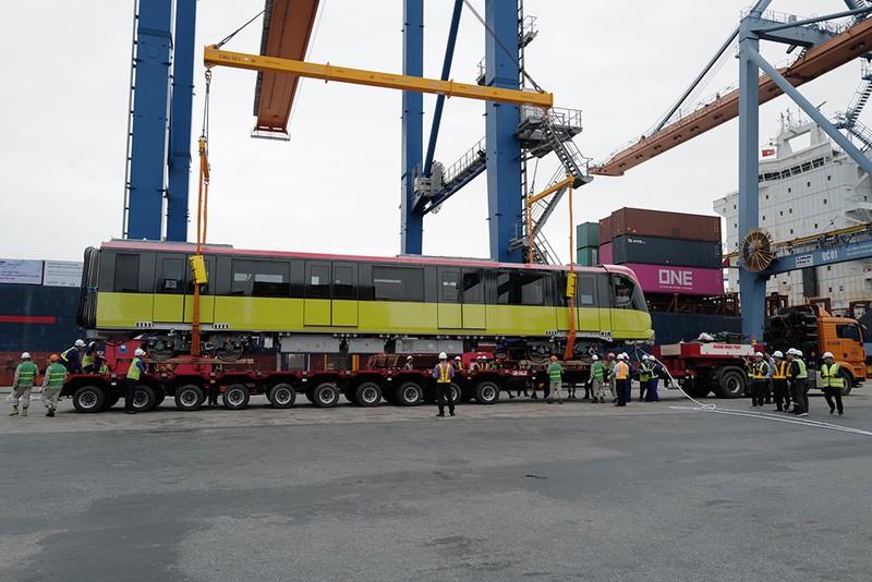 Metro Nhổn - ga Hà Nội sắp vận hành thử toa tầu đầu tiên - ảnh 4