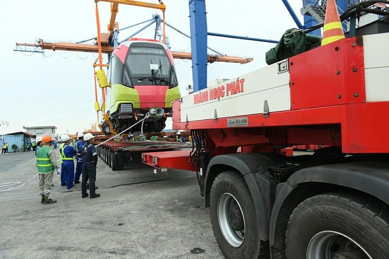 Metro Nhổn - ga Hà Nội sắp vận hành thử toa tầu đầu tiên - ảnh 5