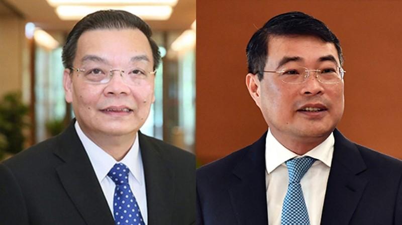 Quốc hội miễn nhiệm ông Chu Ngọc Anh và ông Lê Minh Hưng - ảnh 1