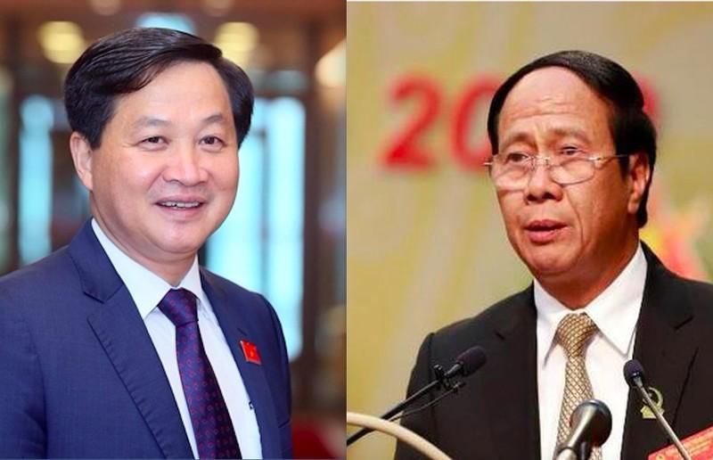 Ông Lê Minh Khái, Lê Văn Thành làm tân Phó Thủ tướng - ảnh 1