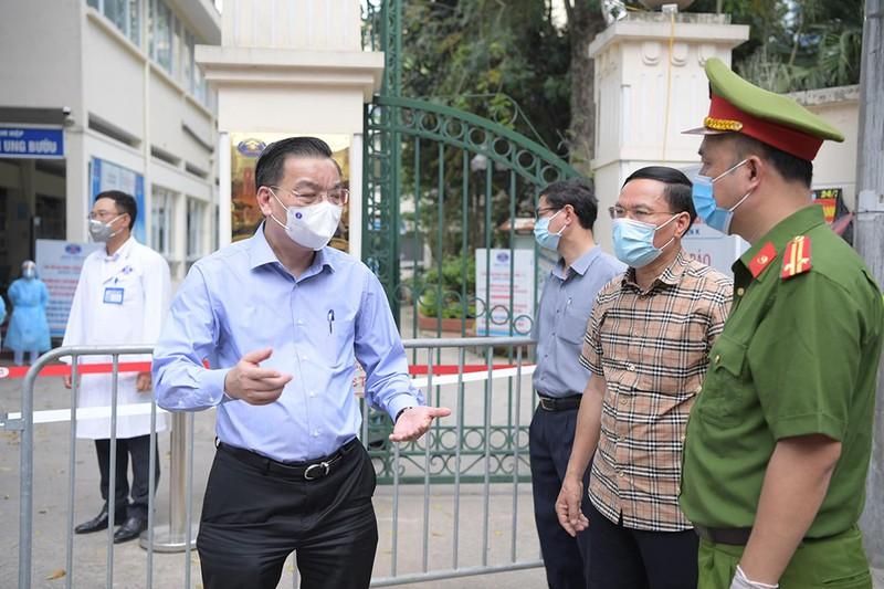 Chủ tịch Hà Nội: Ổ dịch BV K phức tạp hơn BV Bệnh Nhiệt đới TW - ảnh 1