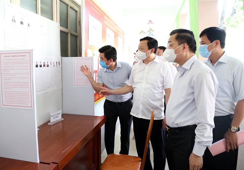 Hà Nội hơn 4.000 khu vực bỏ phiếu sẵn sàng cho ngày bầu cử - ảnh 1