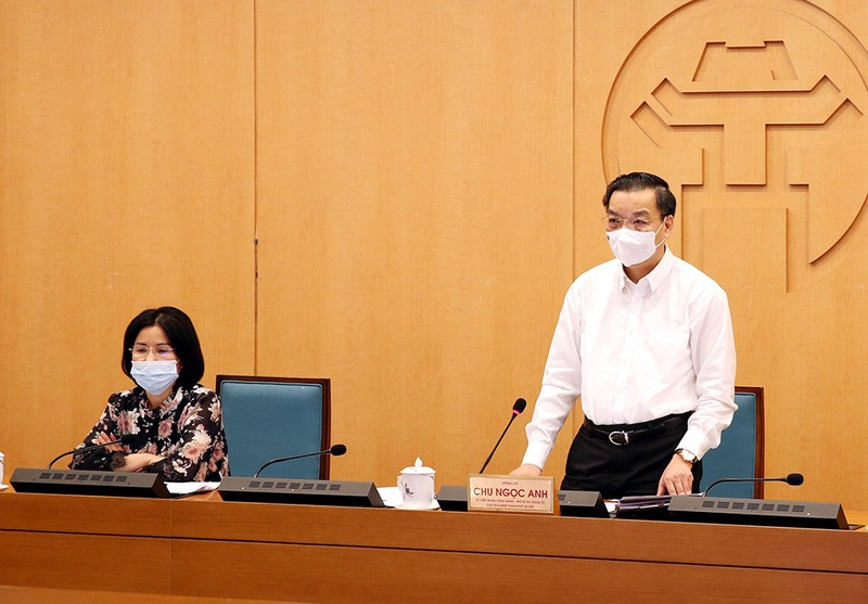 Chủ tịch Hà Nội: Phải rút kinh nghiệm từ chùm ca bệnh COVID-19 ở Đông Anh - ảnh 1