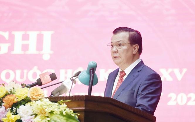 Hà Nội đúc kết kinh nghiệm cuộc bầu cử nhiệm kỳ 2021-2026 - ảnh 3