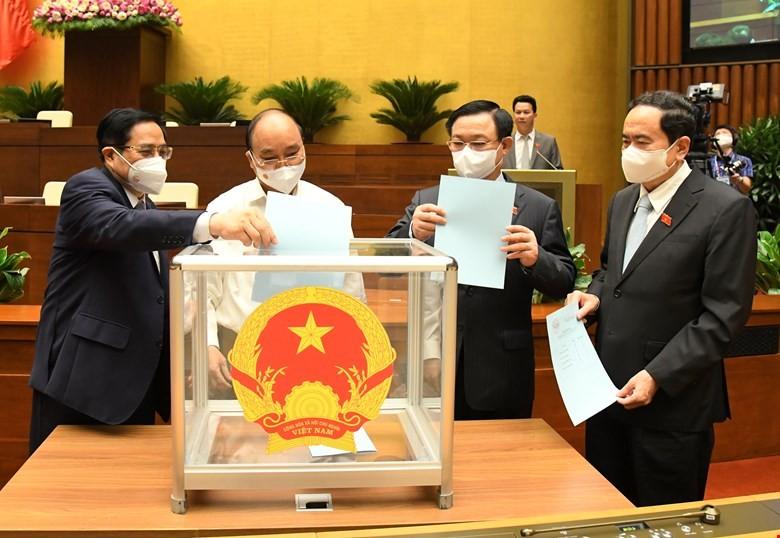 Quốc hội phê chuẩn bổ nhiệm 4 Thẩm phán Tòa án Nhân dân tối cao - ảnh 1
