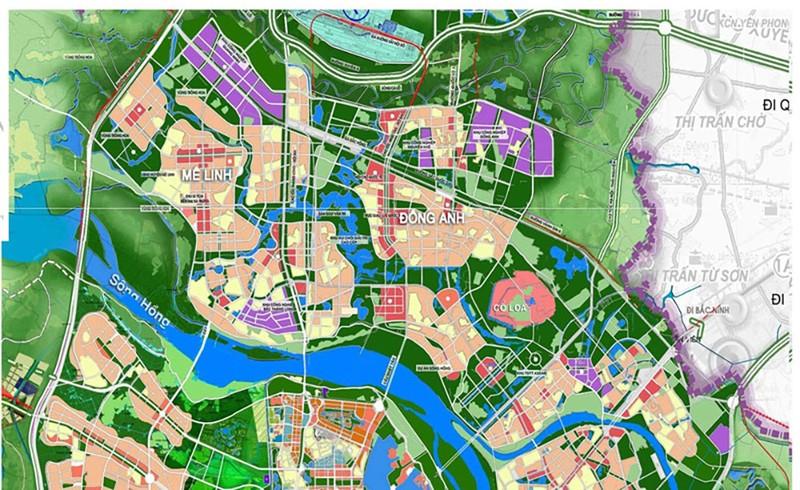 Hà Nội nghiên cứu lập chuỗi đô thị phía Bắc sông Hồng và trục vành đai 4 - ảnh 1