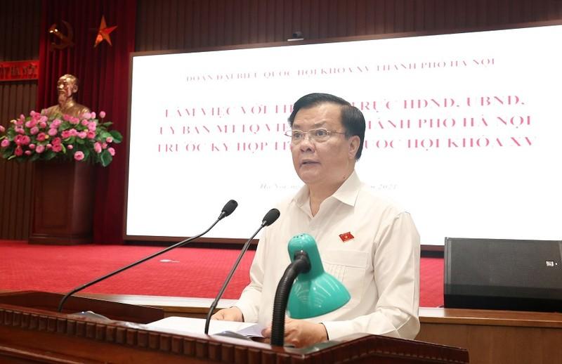 Bộ trưởng GD&ĐT đề nghị cho học sinh ngoại thành Hà Nội đến trường - ảnh 2