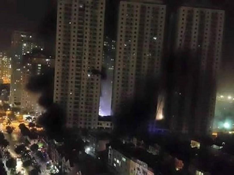 Vụ cháy tại chung cư CT4 Xa La, một công trình của ông Lê Thanh Thản vào hồi tháng 10-2015 vừa qua