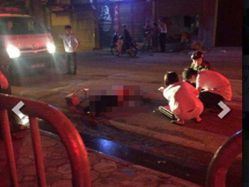 Hà Nội: Một thanh niên nghi bị sát hại giữa đêm - ảnh 1