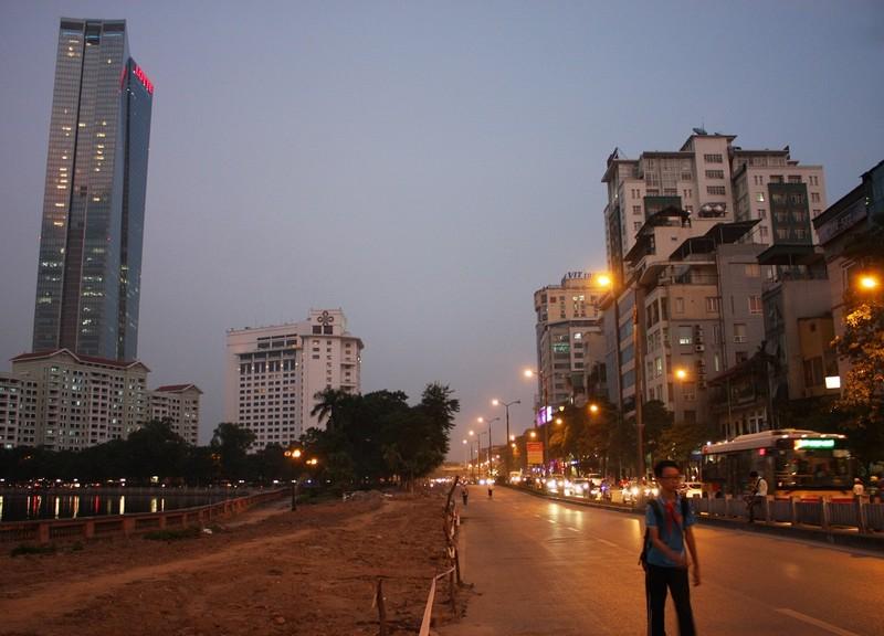 Đường Kim Mã bị cấm 1 chiều, giao thông hỗn loạn - ảnh 7